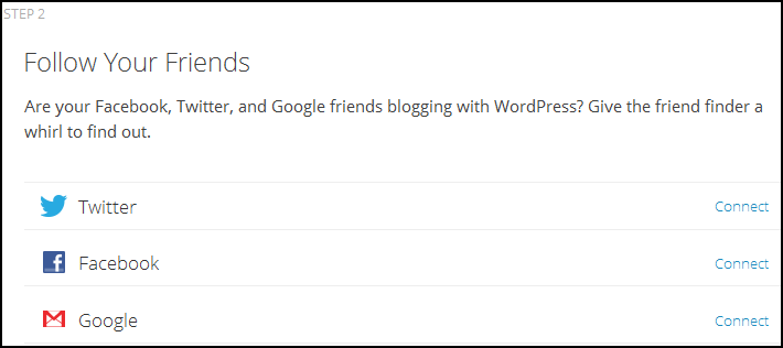 WordPress Follow Friends