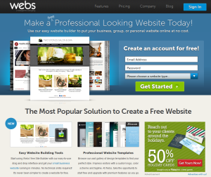 how to make a professional website for free